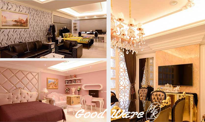 french style high ceiling decorating