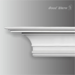 GM-0001 Polyurethane simple crown molding for sale