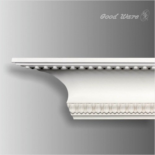 PU decorative beaded crown molding