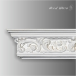 GM-0116 White decorative crown moulding for sale