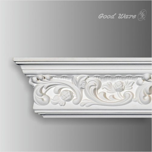 White decorative crown moulding for sale