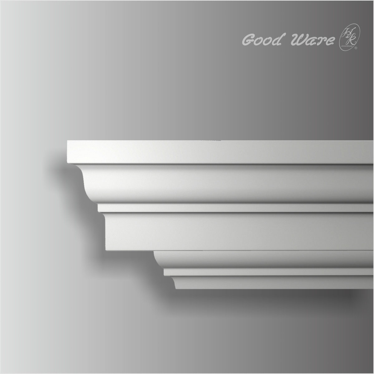 large plain flat crown moulding