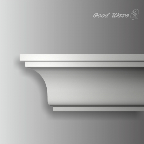 Polyurethane simple concave crown molding