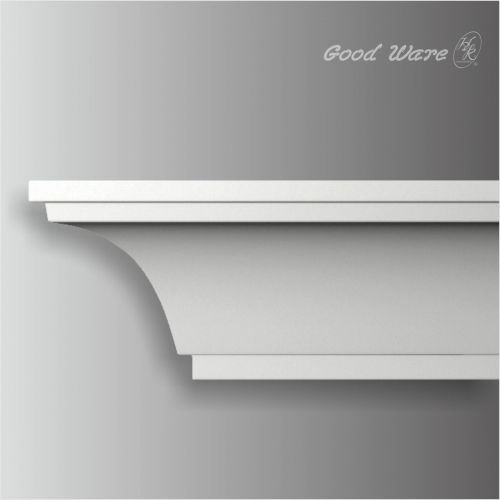 Polyurethane Simple coved ceiling trim for sale