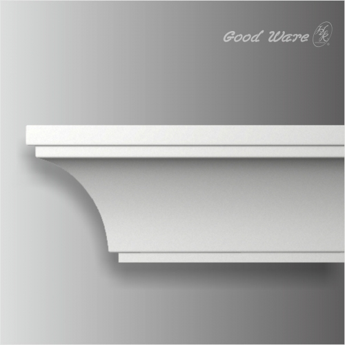Polyurethane white ceiling small cove molding