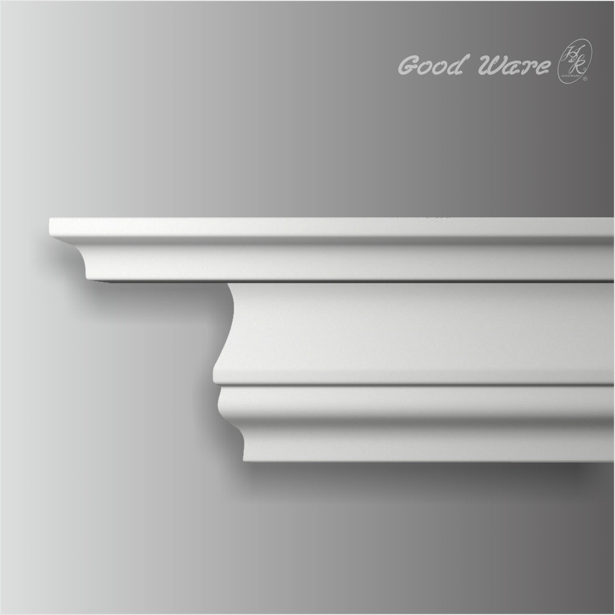 Polyurethane Contemporary ceiling moulding