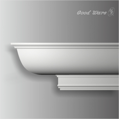 White pu modern ceiling molding
