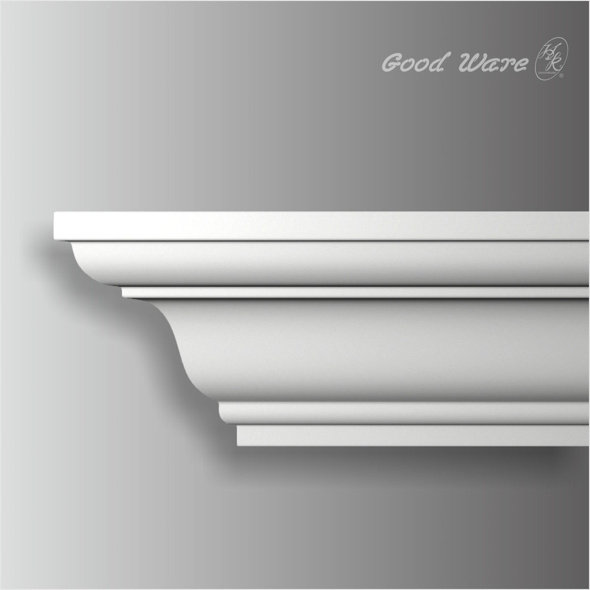 Polyurethane simple ceiling molding