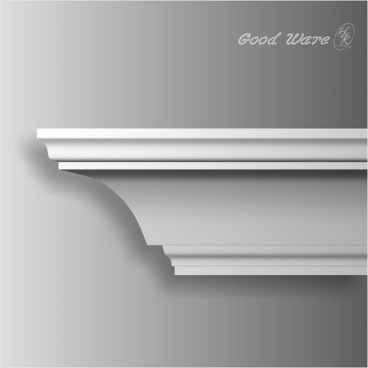 Plain crown molding for kitchen cabinets