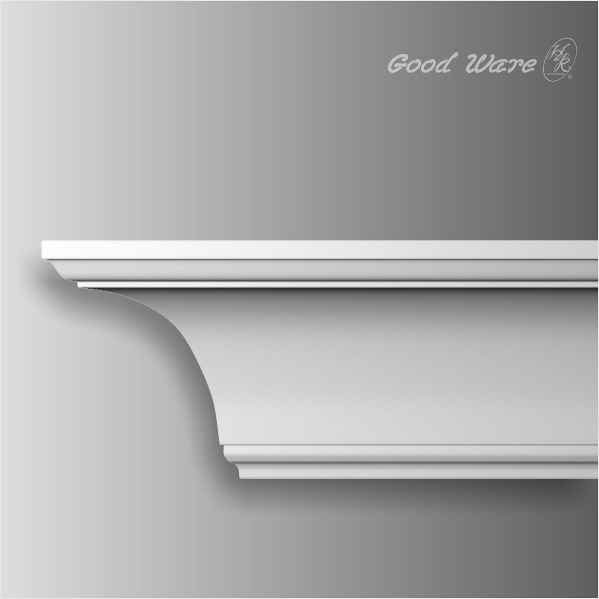 Traditional pu cove ceiling molding