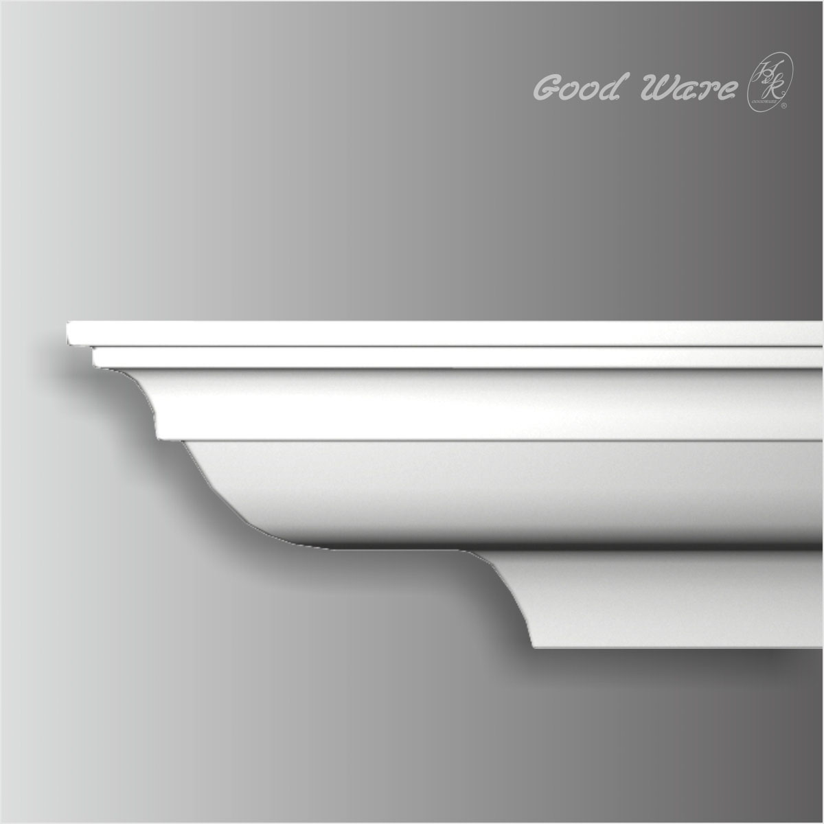 Polyurethane craftsman style crown moulding