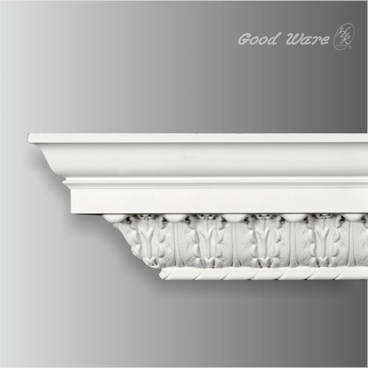 Acanthus carved crown molding for sale