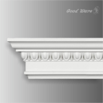 TGM-01216 Polyurethane egg and dart crown molding