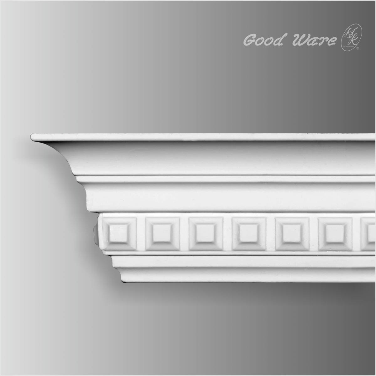 Smaill dentil crown molding