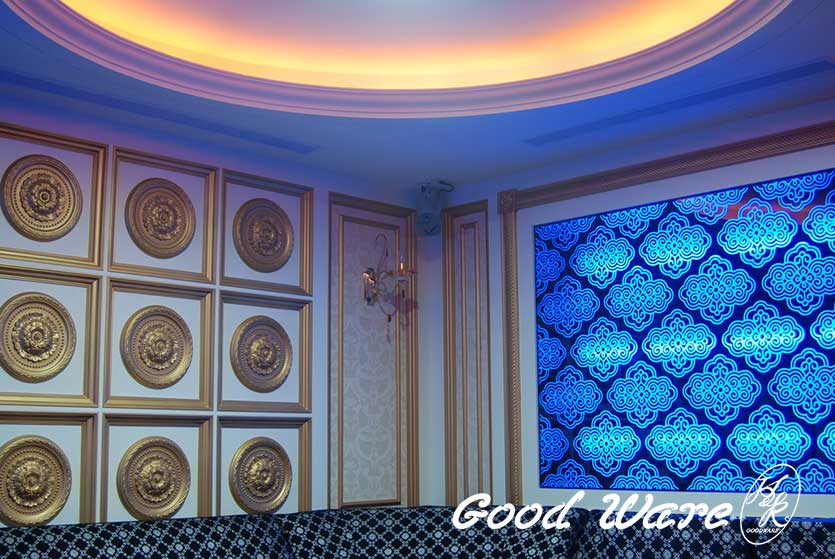 Hotel decor-wall panels and Interior Design by H&K Goodware