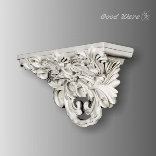 Polyurethane baroque wall shelf for sale