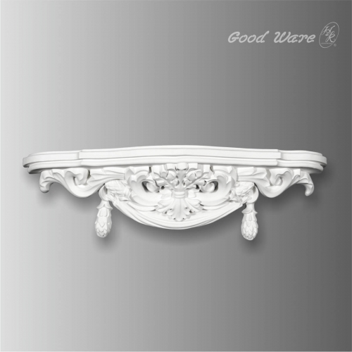 Baroque antique wall shelves for bedroom