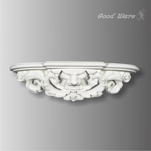 Antique baroque shelf for wall decor