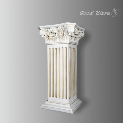 Antique square column pedestal stand for sale
