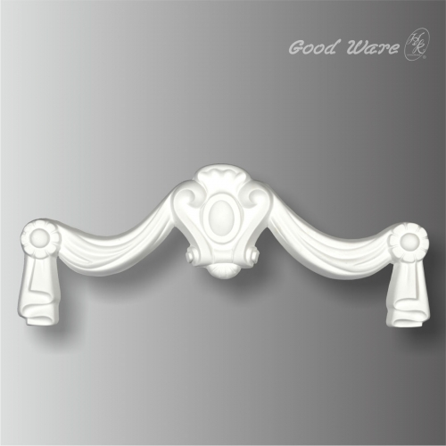 Polyurethane decorative door applique molding