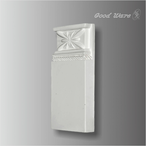 Polyurethane door trim plinth blocks for sale