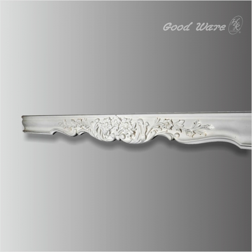 Decorative floral window moulding for sale