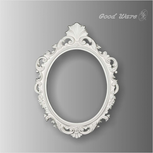 Polyurethane decorative antique mirror frames for sale