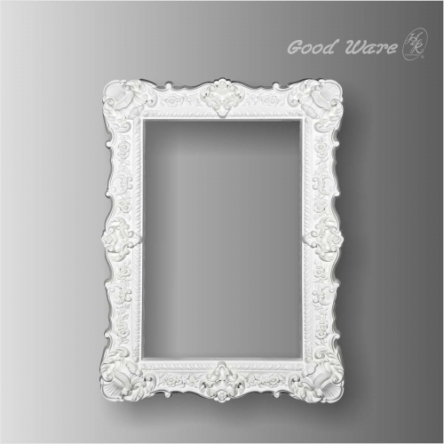 Polyurethane square decorative mirror frames
