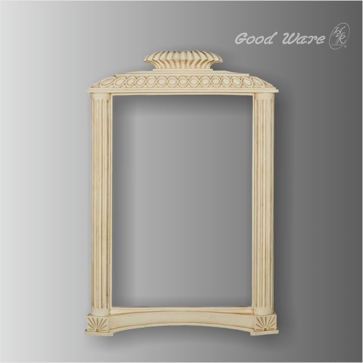 Polyurethane decorative square elegant mirror frames