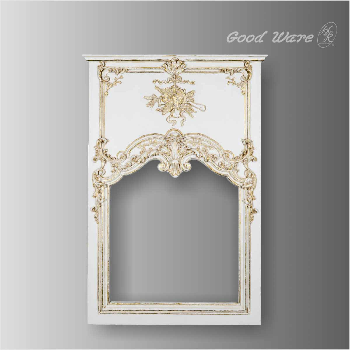 Polyurethane ornate mirror frame for sale