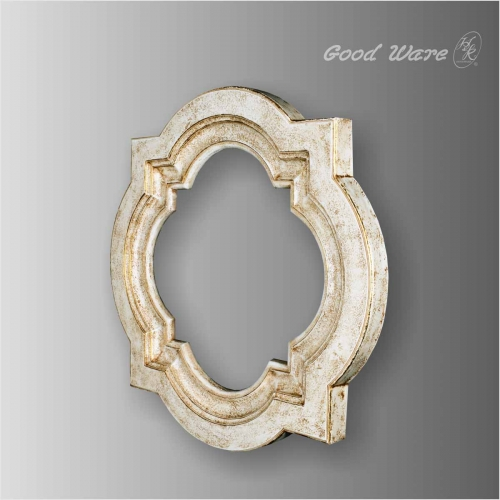 Polyurethane white mirror frame for sale