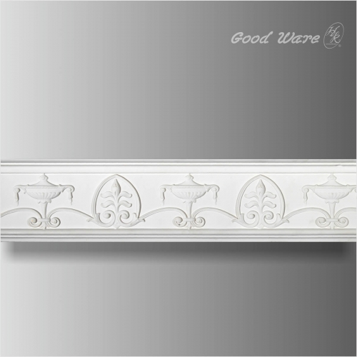 Polyurethane Baroque Mantel Trim For Fireplace | Building Materials