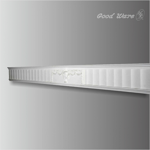 Polyurethane decorative fireplace mantel molding