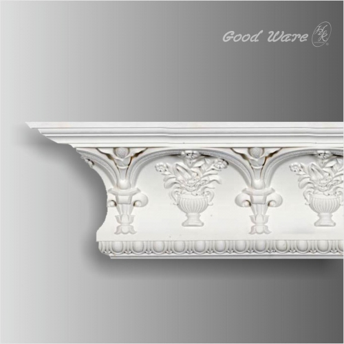 Polyurethane baroque style egg dart moulding supplier