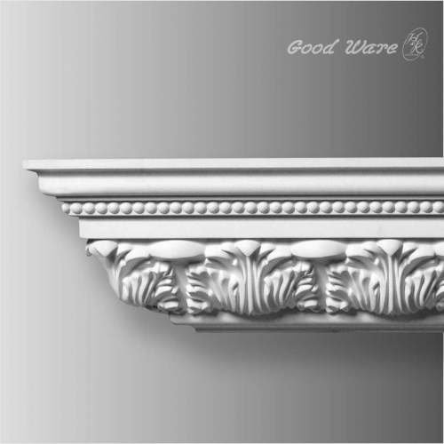 Polyurethane decorative ceiling cornice crown molding