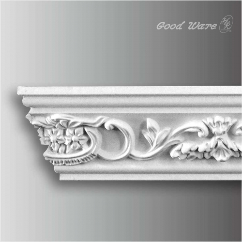 Polyurethane foam decorative molding