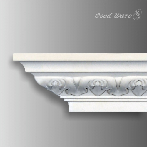 Decorative victorian cornices moulding