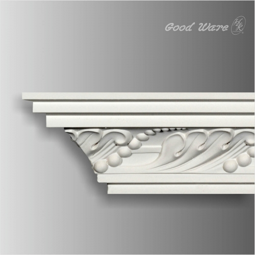polyurethane decorative cornice for ceiling