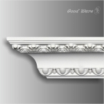 GM-10004 Baroque white crown molding for sale