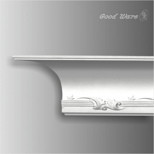 Large decorative ceiling cove moulding