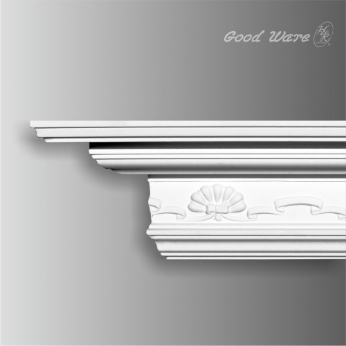 Large decorative cornice crown molding