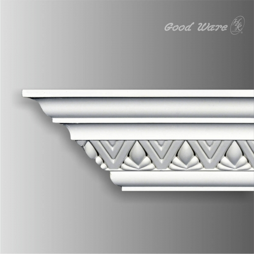 Polyurethane victorian crown molding wholesale