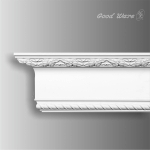 GM-1821 Polyurethane decorative rope crown molding for sale
