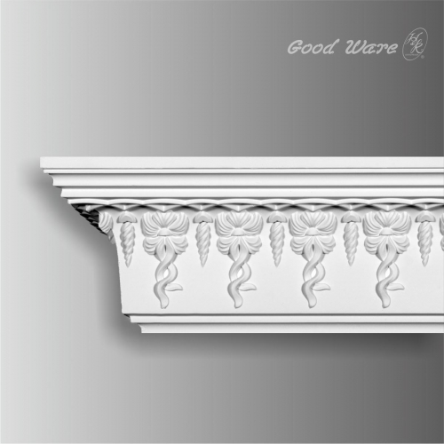 Polyurethane decorative big crown molding