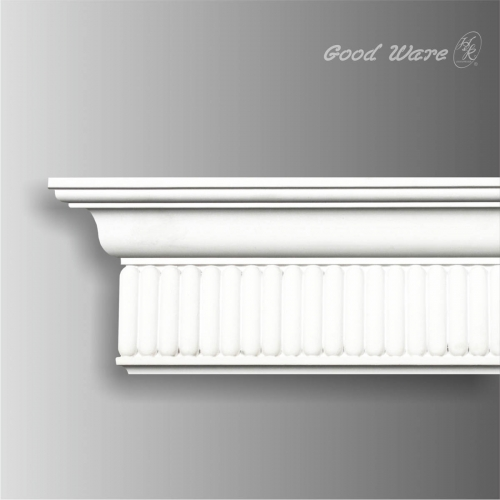 Polyurethane carved modern crown molding wholesale