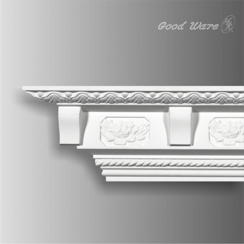 Decorative rope crown moulding for sale