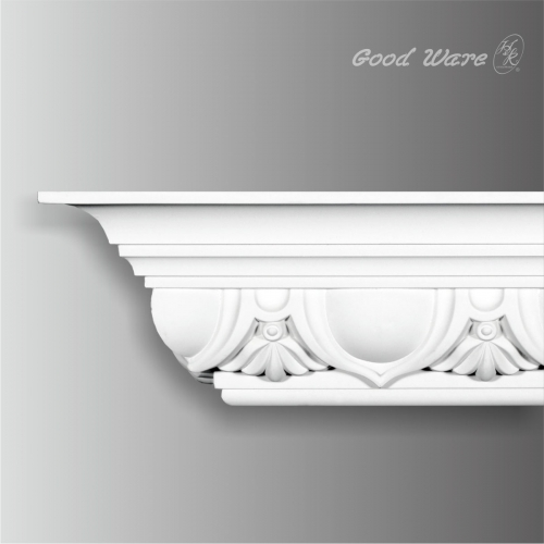 Large egg and dart classic crown moulding