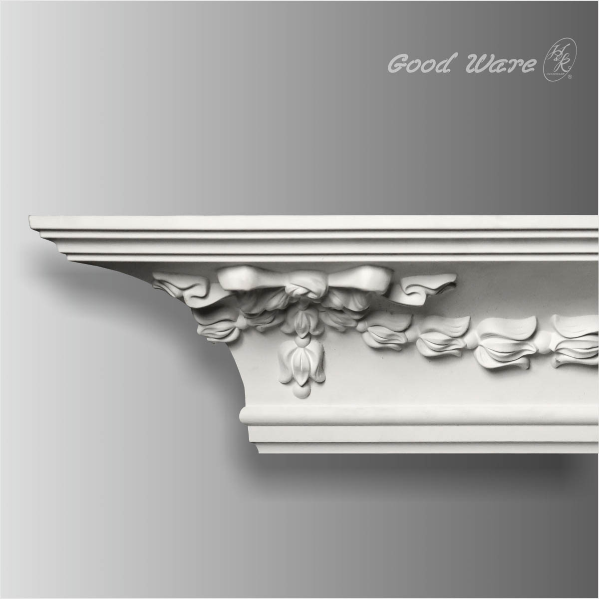 European decorative polyurethane crown molding