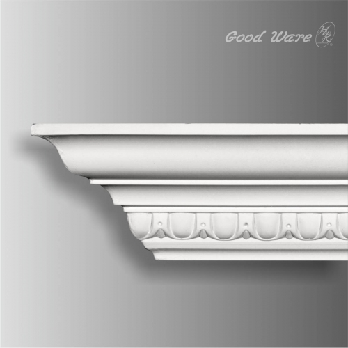 Polyurethane egg and dart architectural cornice molding
