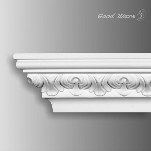 Polyurethane victorian ceiling crown moulding